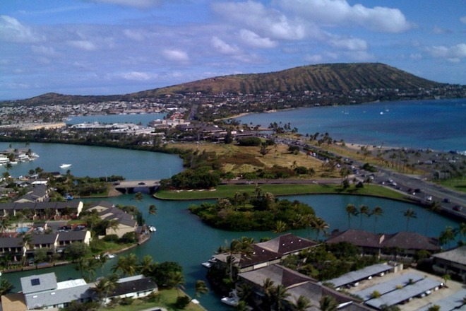 Hawaii Kai Ariel View