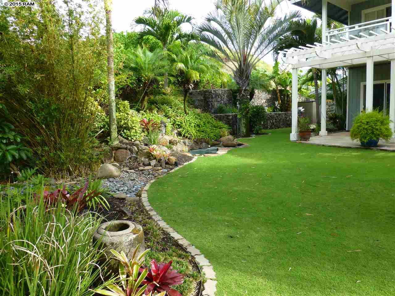 Wailuku home sold 1258 kilou loop maui hawaii for Landscape design hawaii